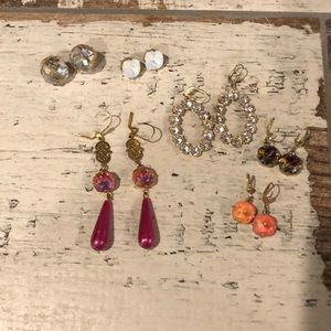 Catherine Popesco-Victoria Lynn-Sorrelli earrings